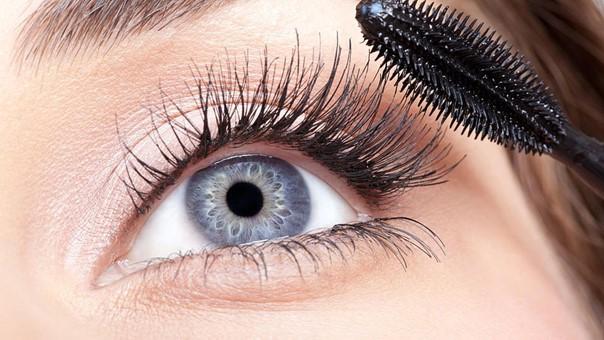 Ohne Mascara im Kosmetikstudio Luzern